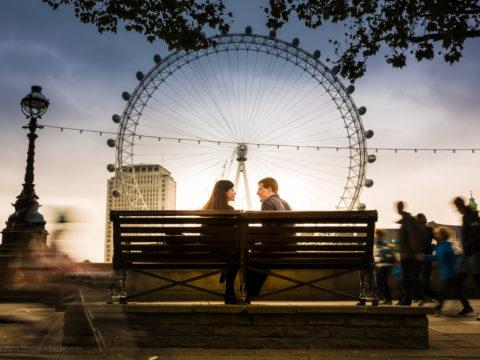 Andy and Rachel, London, UK