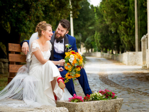 Cormac and Aisling, Titignano, Italy